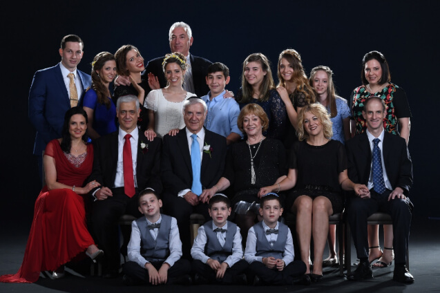 בני משפחות רובנר וצימט