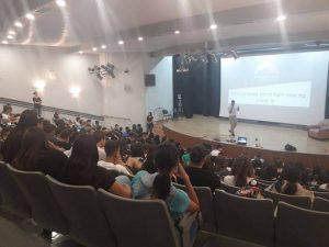 הרצאה תיכון זינמן דימונה